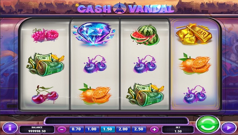 Play'n GO Explores Street Art in New Cash Vandal Slot