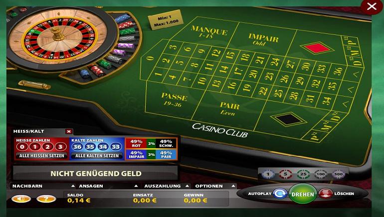 casino club überweisung