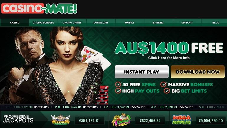 Casino Mate Introduces New 1Click Platform