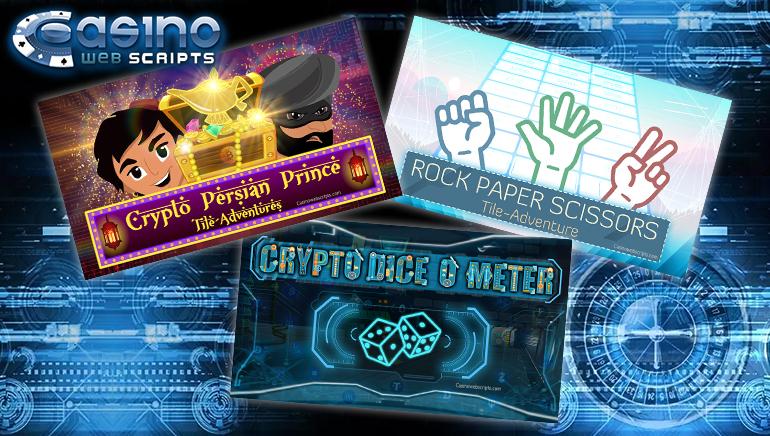 CasinoWebScripts Unveils Three New Games