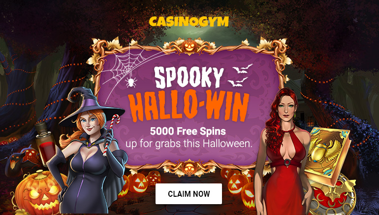 5000 Spooky Halloween Spins Awaiting at CasinoGym