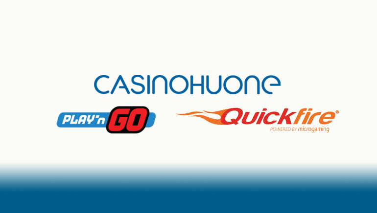 Casinohuone Adds Content from Play'n GO and Quickspin