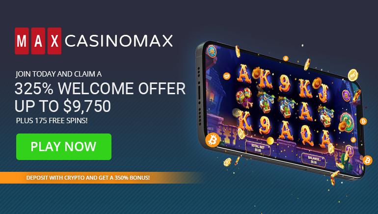Massive Welcome Bonus Awaits New Casino Max Players