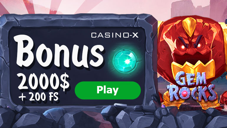 Casino-X Offers €2,000 Welcome Bonus + 200 Free Spins