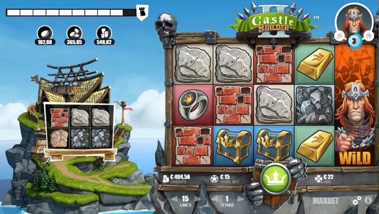 It's Building Time: Microgaming's Castle Builder II Slot Releases