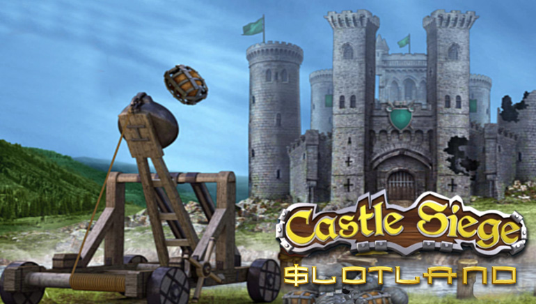 Slotland Goes Medieval with Castle Siege Slot Game