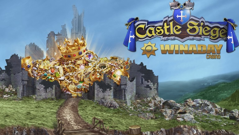 Castle Siege Begins at WinADay Casino