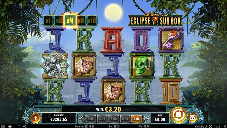 Prepare for Adventure in Play'n GO's New Slot, Cat Wilde in the Eclipse of the Sun God