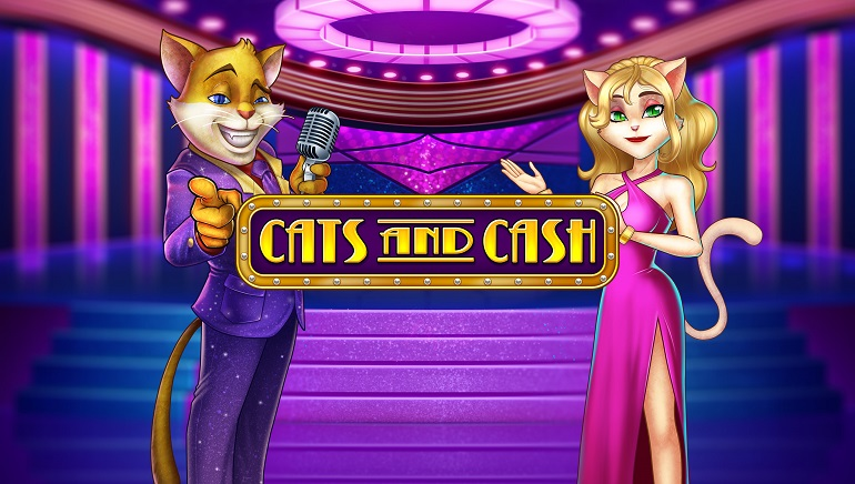 Releasing Today: Play'n GO's Revamped Slot, Cats and Cash