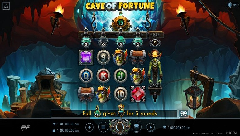Explore The Cave Of Fortune Online Slot From BF Games To Uncover Hidden Rewards