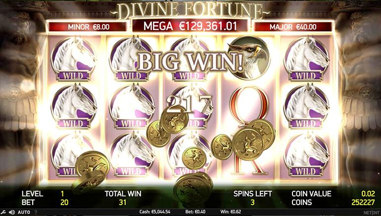 New Jersey Man Wins $194,000 Jackpot on Divine Fortune Slot