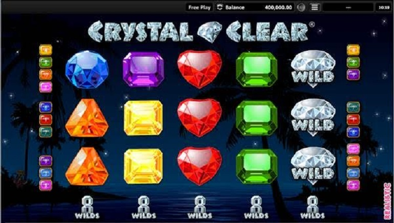 Have Fun with Gems with New Crystal Clear Slot by Realistic Games
