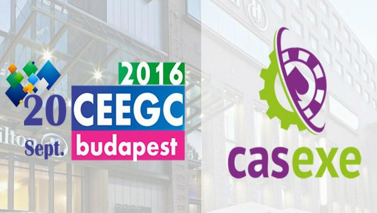 Casexe Unveiled as Bronze Sponsor of CEEGC 2016