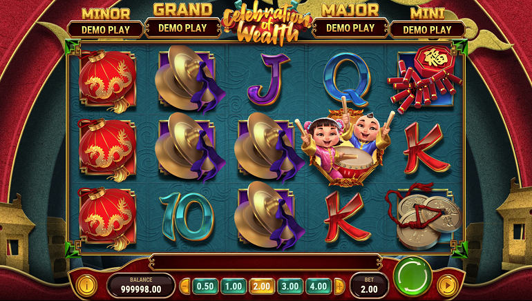 Play'n GO Celebrates Asia with The Wealth Package Slots