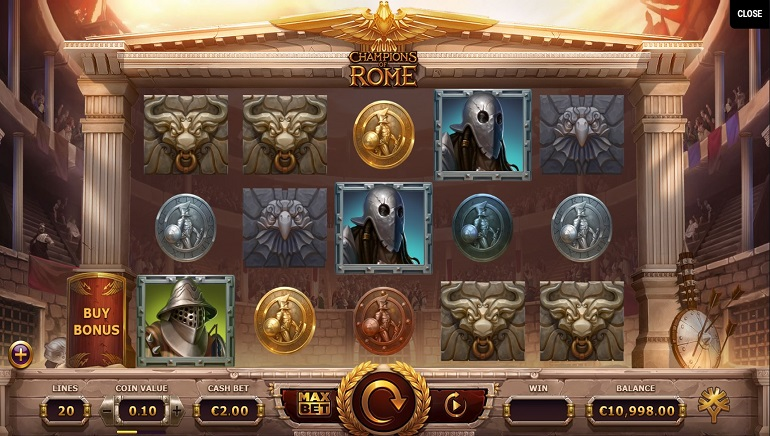 Champions of Rome Slot Unleashed at Yggdrasil Casinos