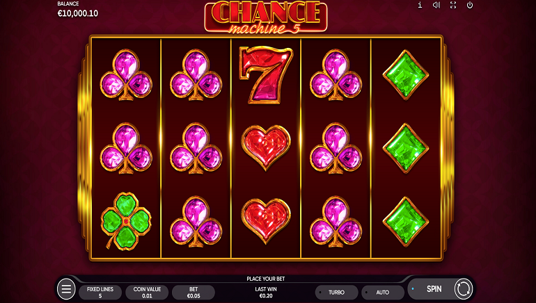 Endorphina Brings Classic Gameplay To Online Casinos With New Chance Machine 5 Slot
