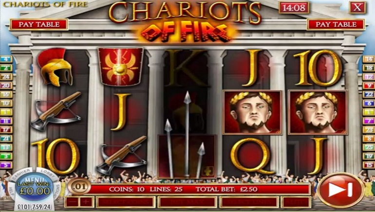 Revisit Glorious Days of the Roman Empire with Rival Gaming's Chariots of Fire