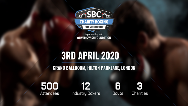 iGaming Executives Take To The Ring For Boxing Charity Event