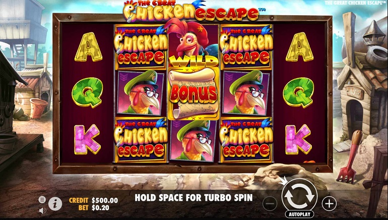 Pragmatic Play Releases a 'Clucking Good' Game – The Great Chicken Escape™