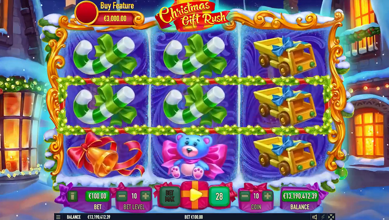 Celebrate The Holidays With New Christmas Gift Rush Slot From Habanero