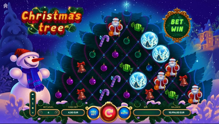Yggdrasil And TrueLab Games Celebrate The Holidays With Christmas Tree Slot