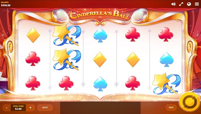 Cinderella's Ball from Red Tiger Gaming is Full of Fun