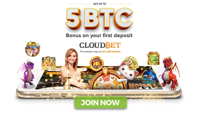 Claim Up to 5 BTC On Your First Deposit at CloudBet