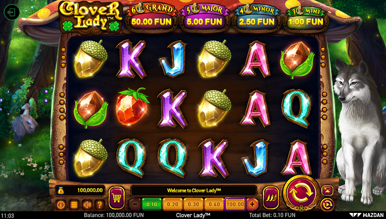 Wazdan Launch Magical-Themed Clover Lady Slot Into Online Casinos