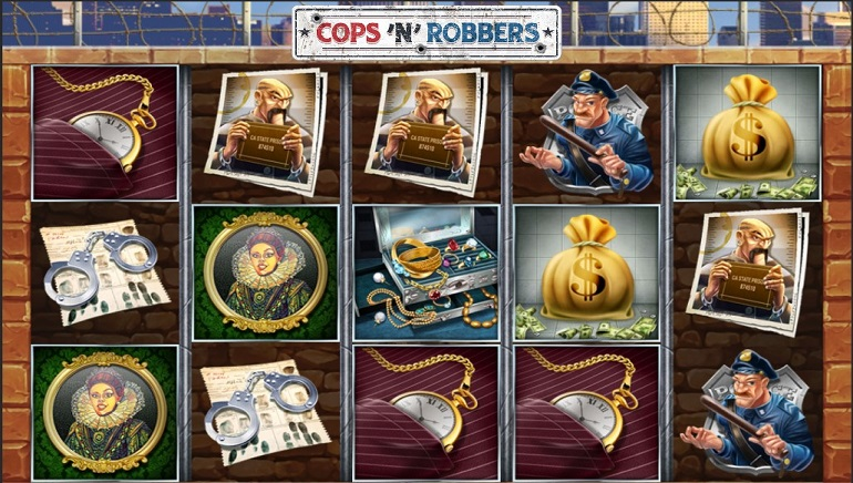 Slot Preview: Cops 'n 'Robbers from Play'N GO