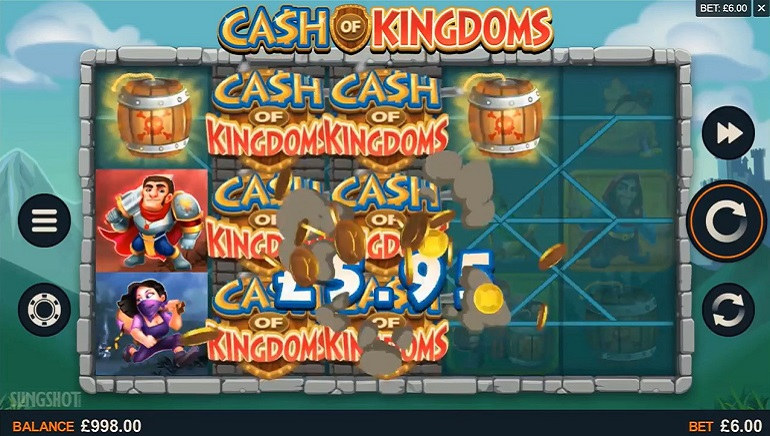 Microgaming's Latest Release Cash of Kingdoms Goes Live