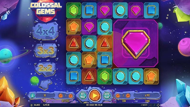 Habanero Systems Unveils Colossal Gems Slot