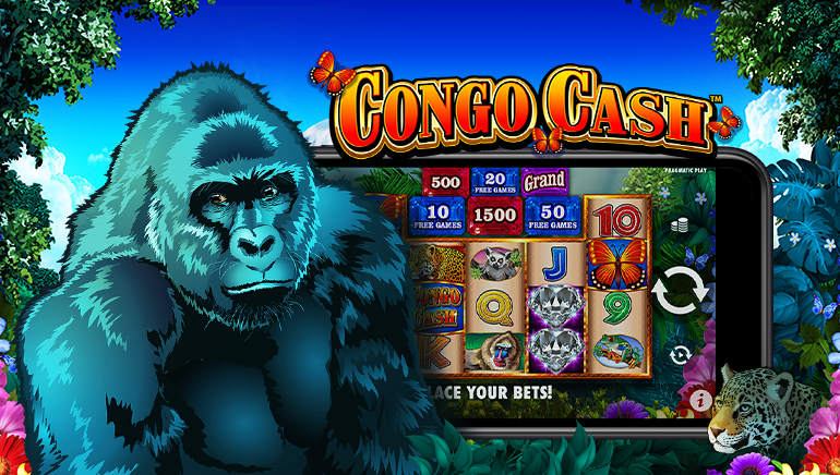 Go Wild For New Congo Cash Online Slot From Pragmatic Play