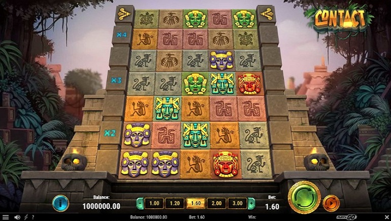 Play'n GO Releases New Mayan-themed Contact Slot