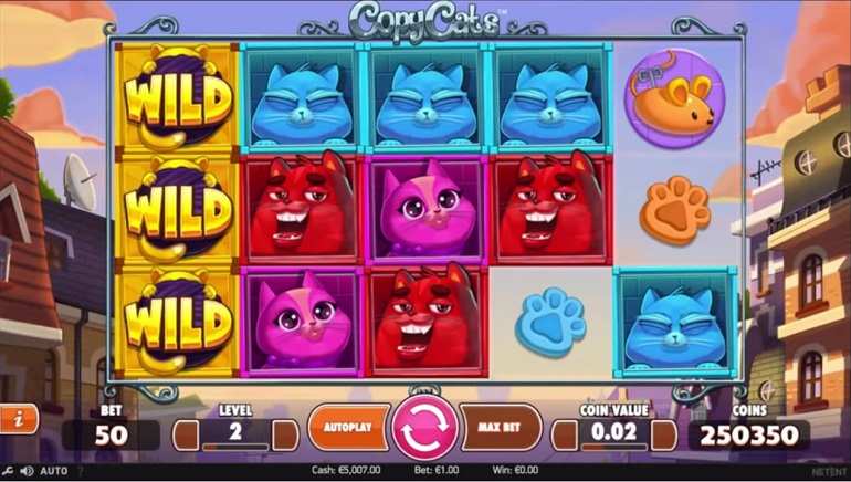 NetEnt Release New Feline-Themed Slot Copy Cats