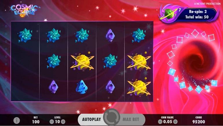 New NetEnt Slot Cosmic Eclipse Lands at Betsson Casino
