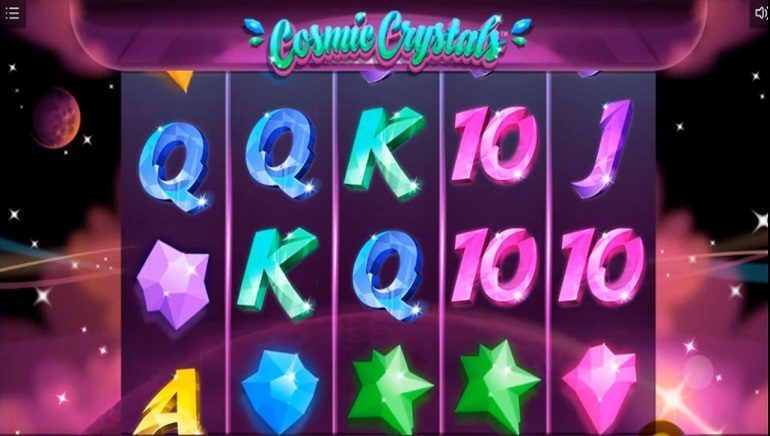 New Cosmic Themed Slot From 1x2 Gaming Released: Cosmic Crystals