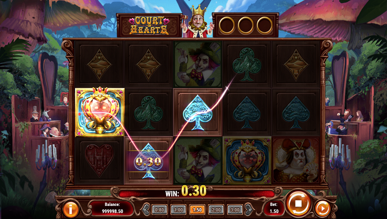 Play'N GO Deals a Winner in Court of Hearts Slot Game