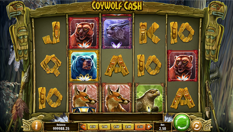 Play'N GO Releases the Wolves with Coywolf Cash Slot Game