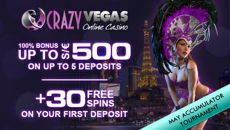 Crazy Vegas Casino Goes Insane with Welcome Bonus