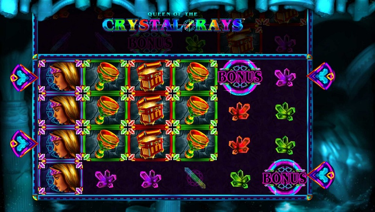 Microgaming Unveils Queen of the Crystal Rays Slot Game