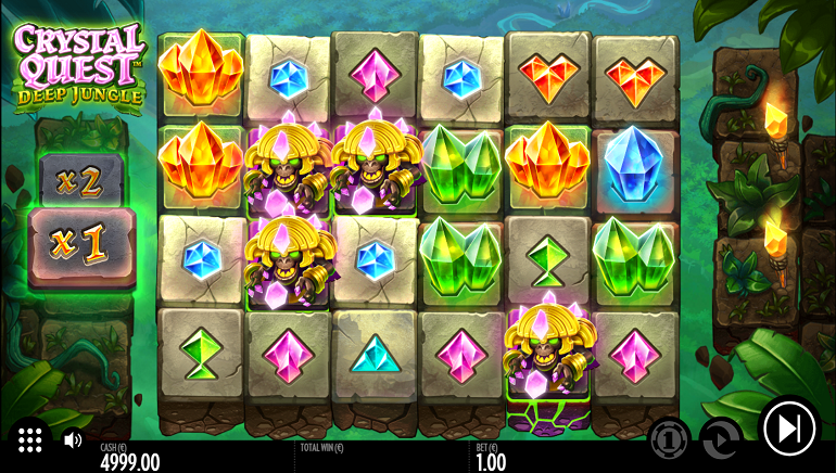 Thunderkick to Release New Series with Crystal Quest: Deep Jungle Slot