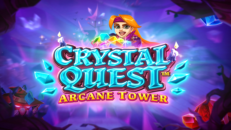 Join An Epic Adventure With New Crystal Quest: Arcane Tower Slot From Thunderkick