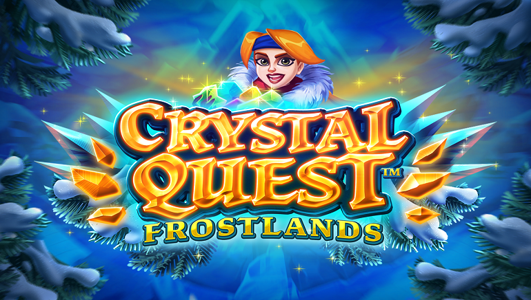 Embark on an Icy Adventure With New Crystal Quest: Frostlands Slot by Thunderkick
