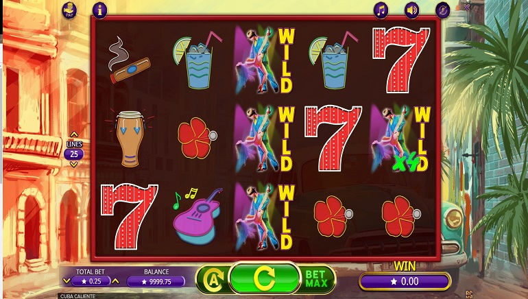 Cuba Caliente is the New Slot from Booming Games