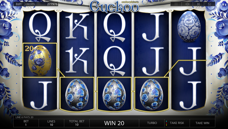 In Less Than a Week: Two Big Wins on Endorphina's New Cuckoo Slot