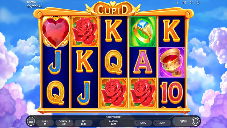 Cupid Slot From Endorphina Celebrates Romance With Wins Of Up To 500x