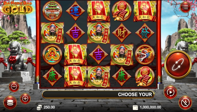 Celebrate the New Da Hong Bao Gold Slot from Genesis Gaming