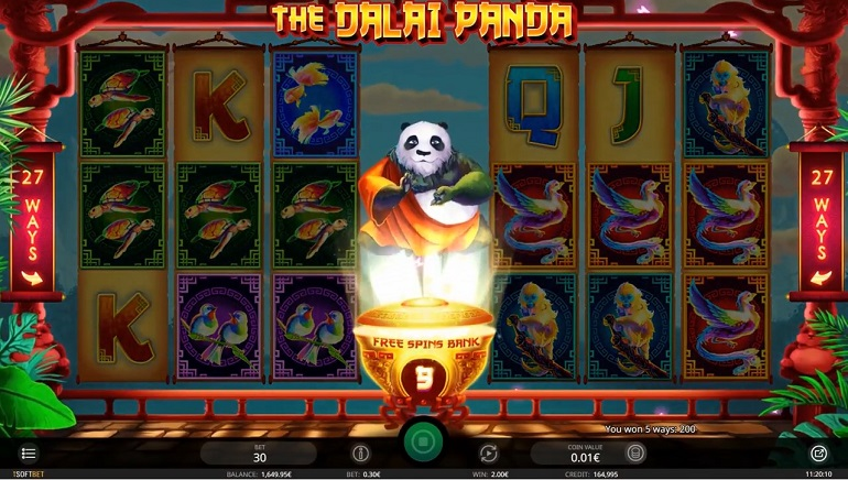 The Dalai Panda Slot is New to iSoftBet Casinos