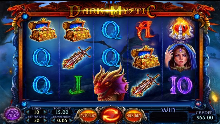 Enter the Land of Legends with Felix Gaming Dark Mystic Slot