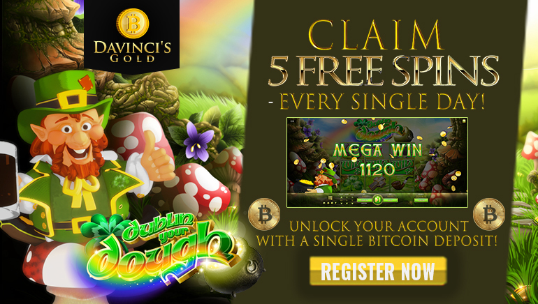 Da Vinci Gold Launches Spectacular Free Spins Promotion
